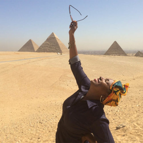 DiscovHer - Giza Pyramids, Cairo, Egypt